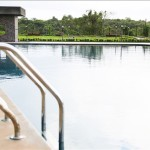 Anantam Amenities - pool overlooking the Garden